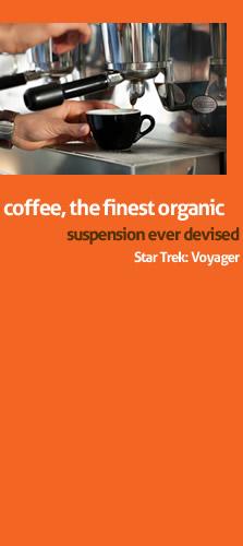 fiji coffee bar - star trek coffee quote